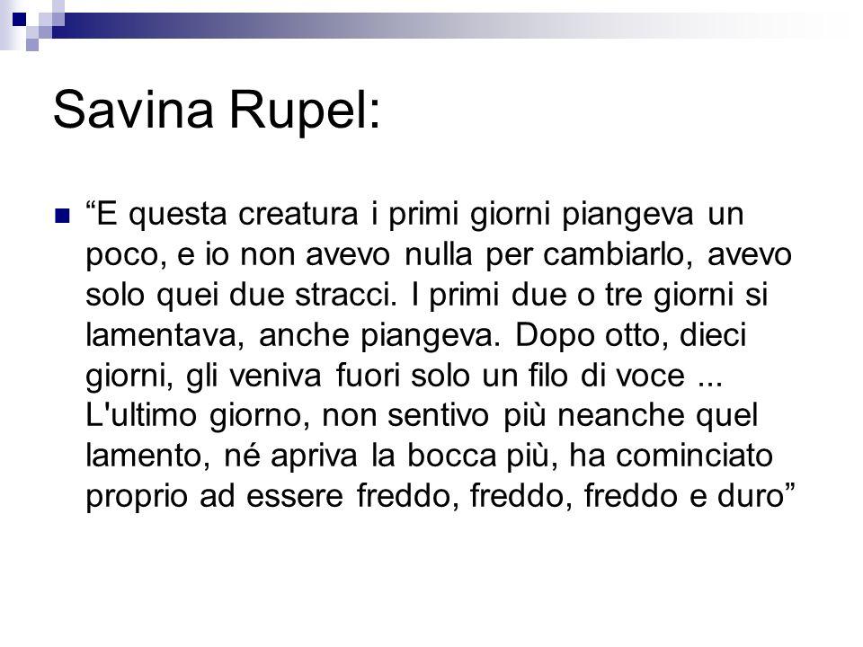 Savina Rupel: