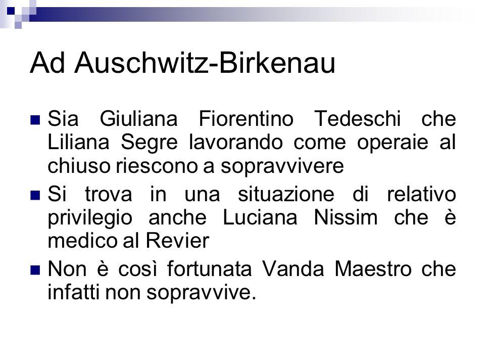 Ad Auschwitz-Birkenau