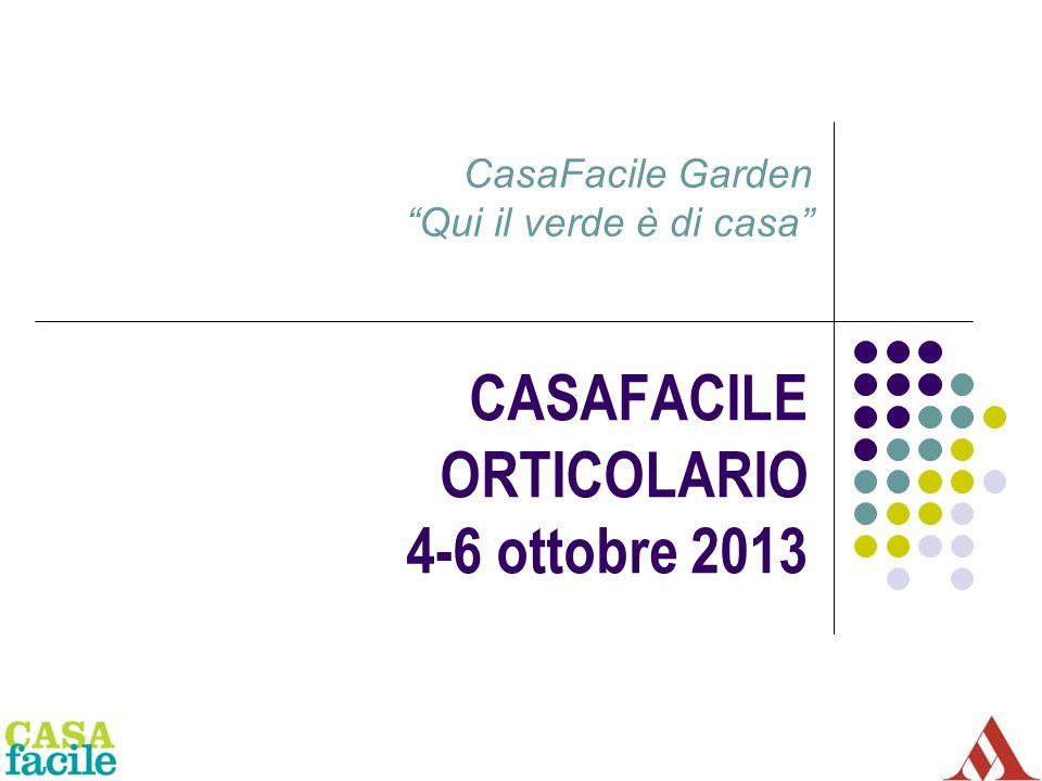 CASAFACILE ORTICOLARIO 4-6 ottobre 2013