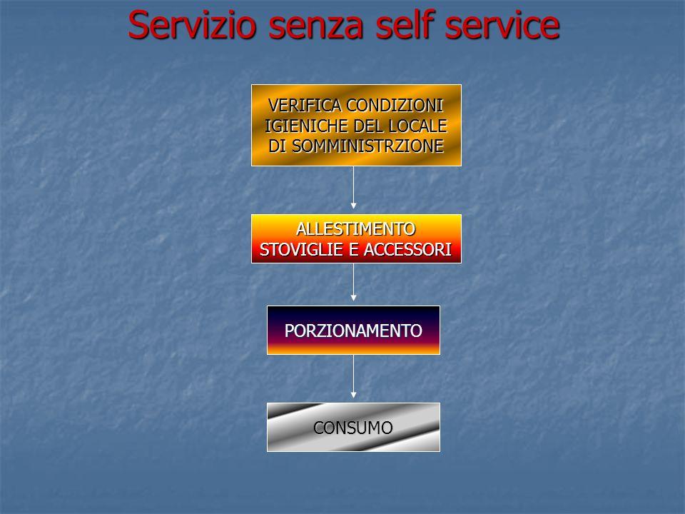Servizio senza self service