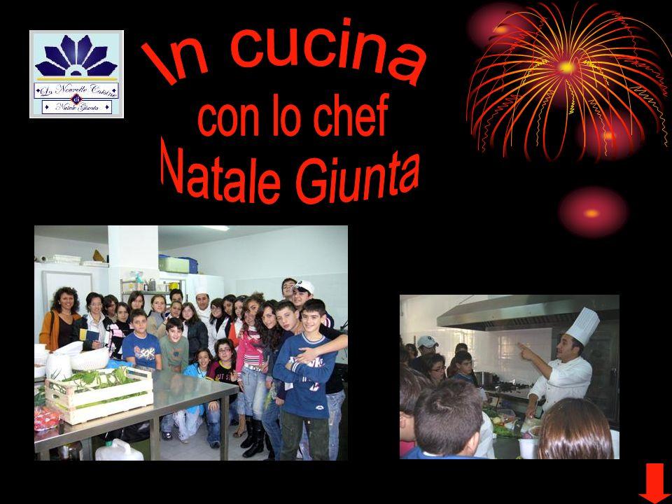 In cucina con lo chef Natale Giunta
