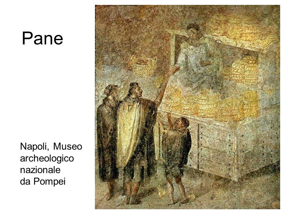 Pane Napoli, Museo archeologico nazionale da Pompei