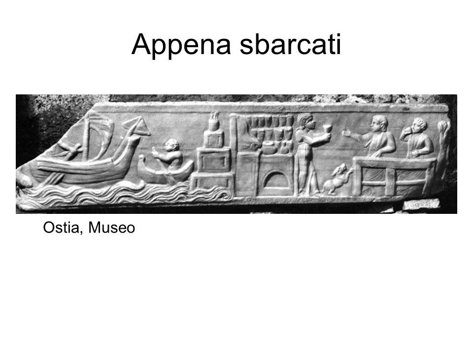 Appena sbarcati Ostia, Museo