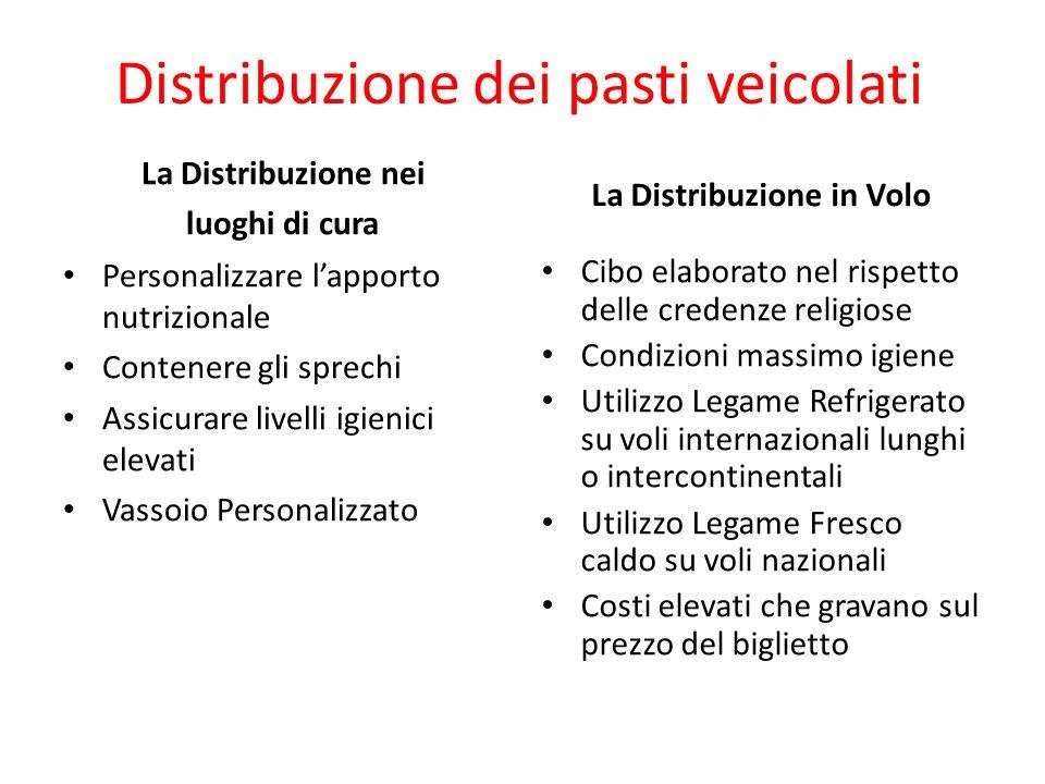 Distribuzione dei pasti veicolati