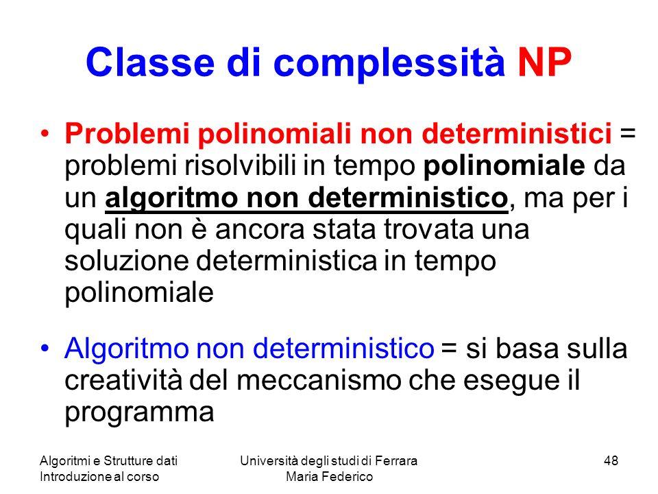 Classe di complessità NP