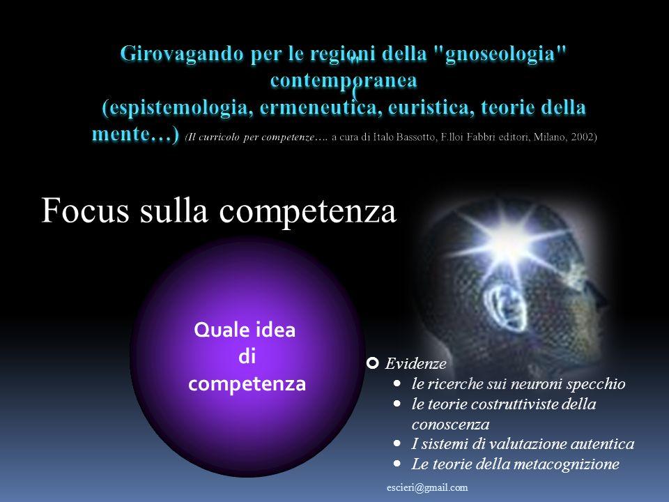 Focus sulla competenza
