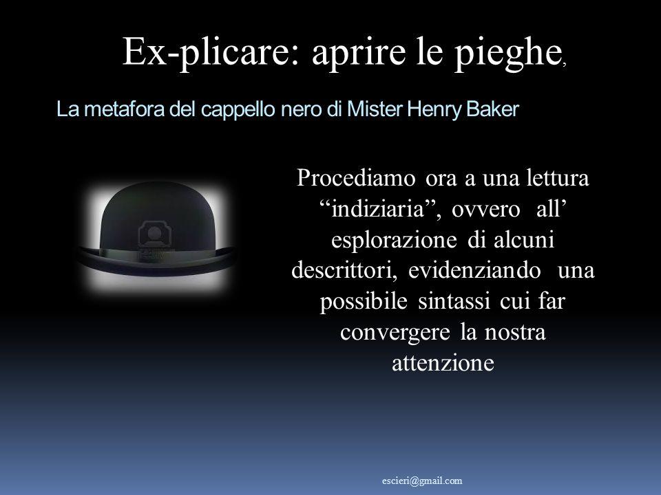 La metafora del cappello nero di Mister Henry Baker