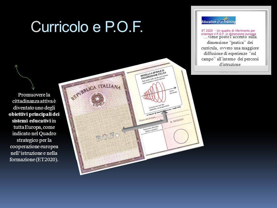 Curricolo e P.O.F.