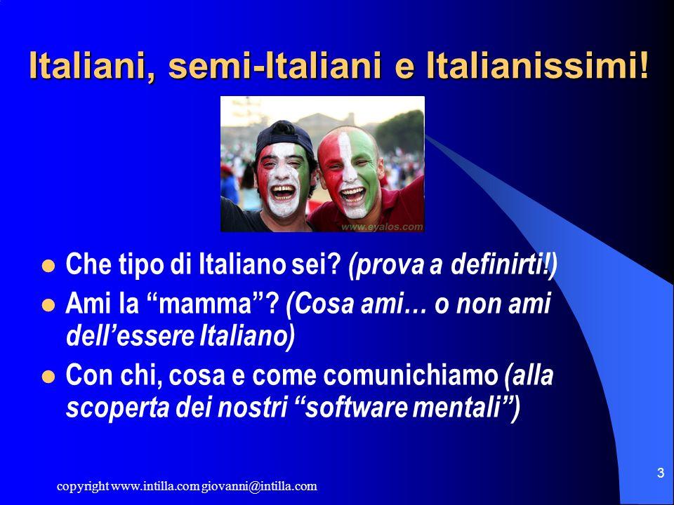 Italiani, semi-Italiani e Italianissimi!