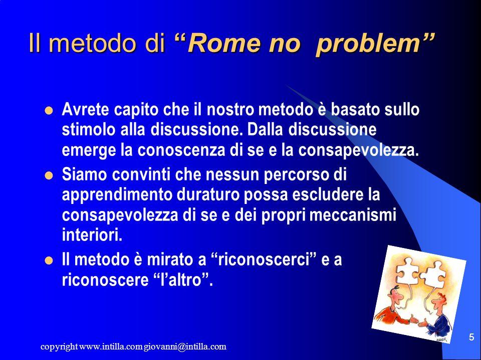 Il metodo di Rome no problem