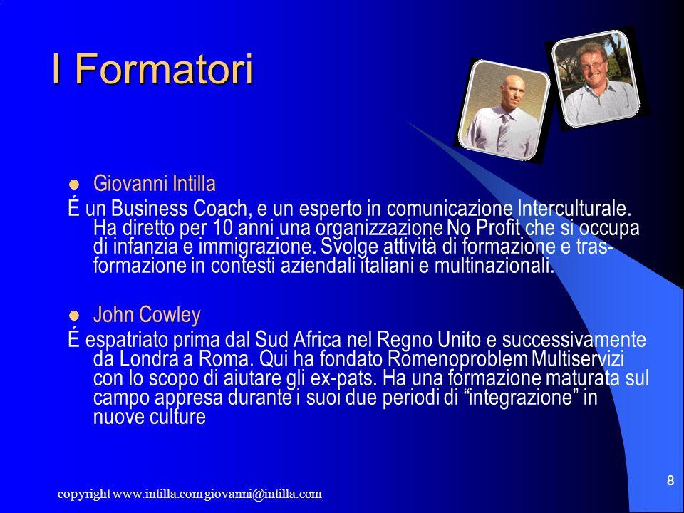 I Formatori Giovanni Intilla