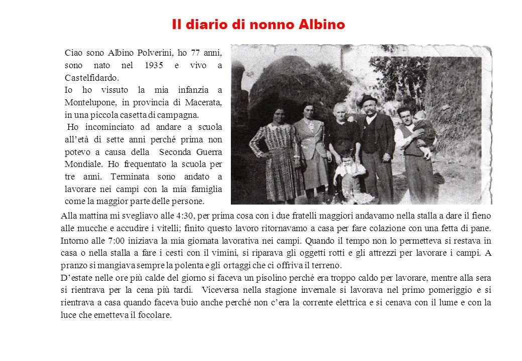 Il diario di nonno Albino