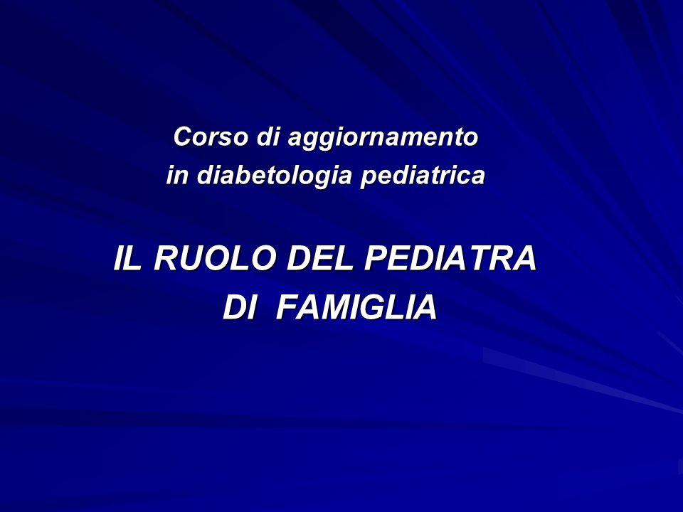 Corso di aggiornamento in diabetologia pediatrica