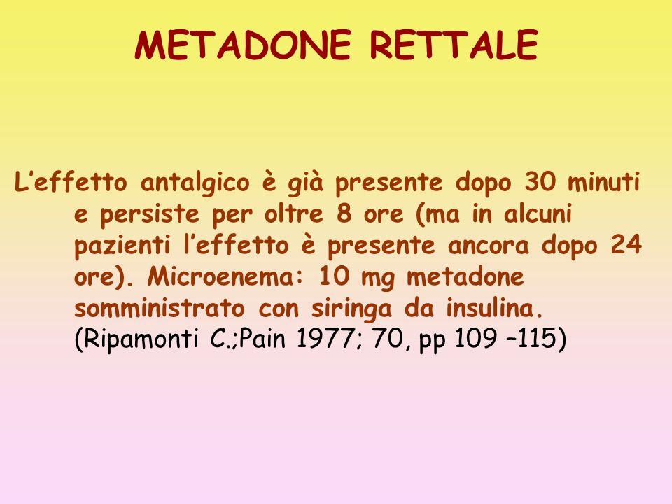 METADONE RETTALE