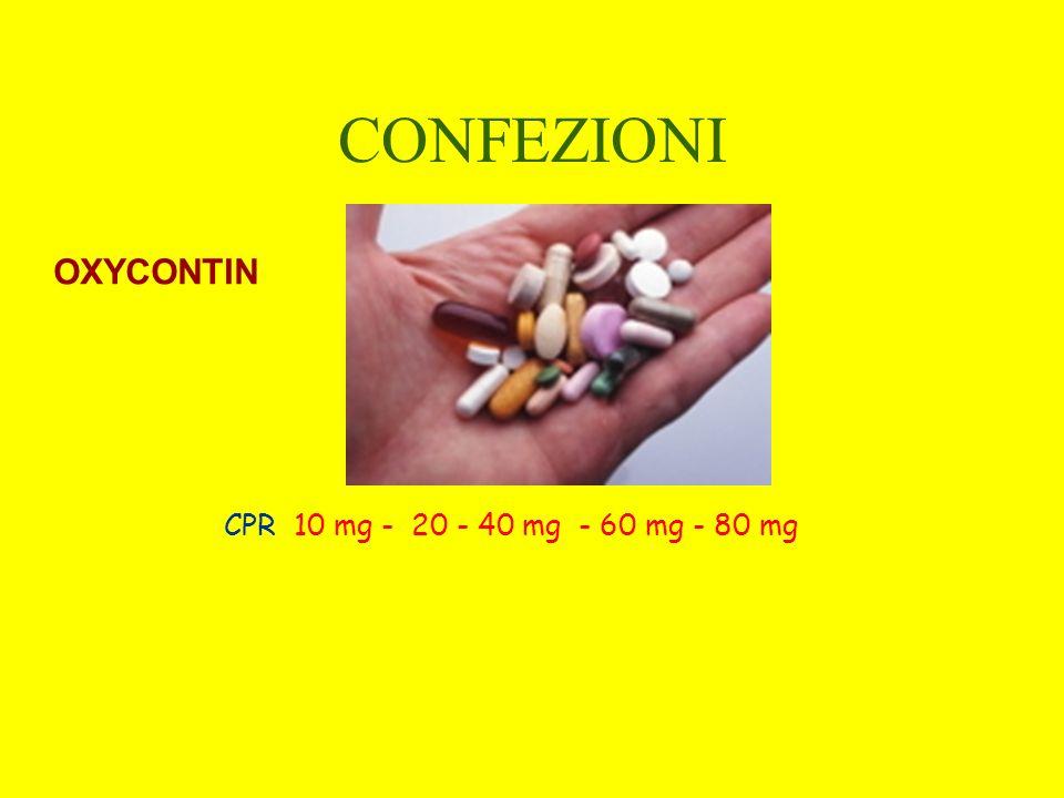 CONFEZIONI OXYCONTIN CPR 10 mg - 20 - 40 mg - 60 mg - 80 mg