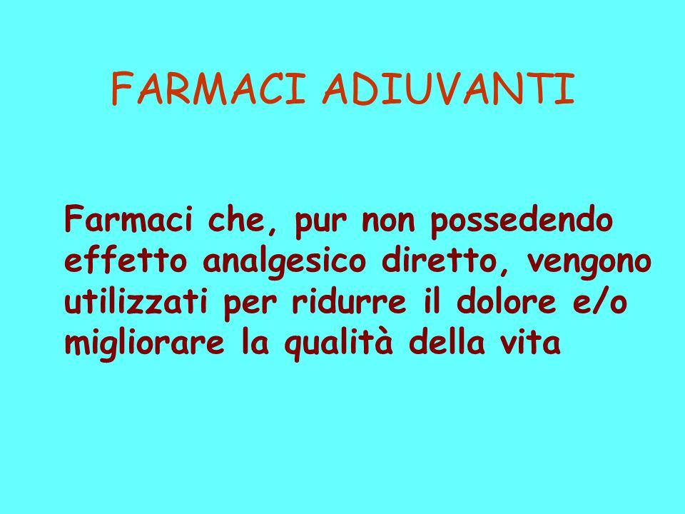 FARMACI ADIUVANTI