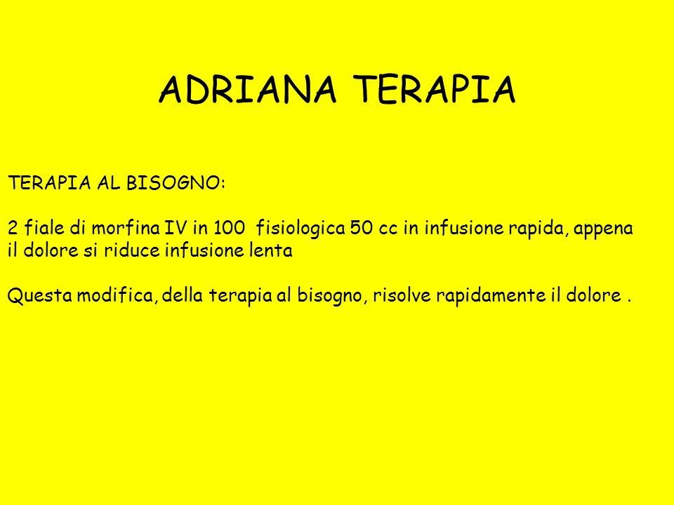 ADRIANA TERAPIA TERAPIA AL BISOGNO: