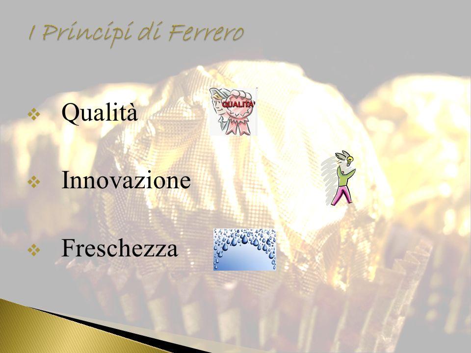 I Principi di Ferrero Qualità Innovazione Freschezza