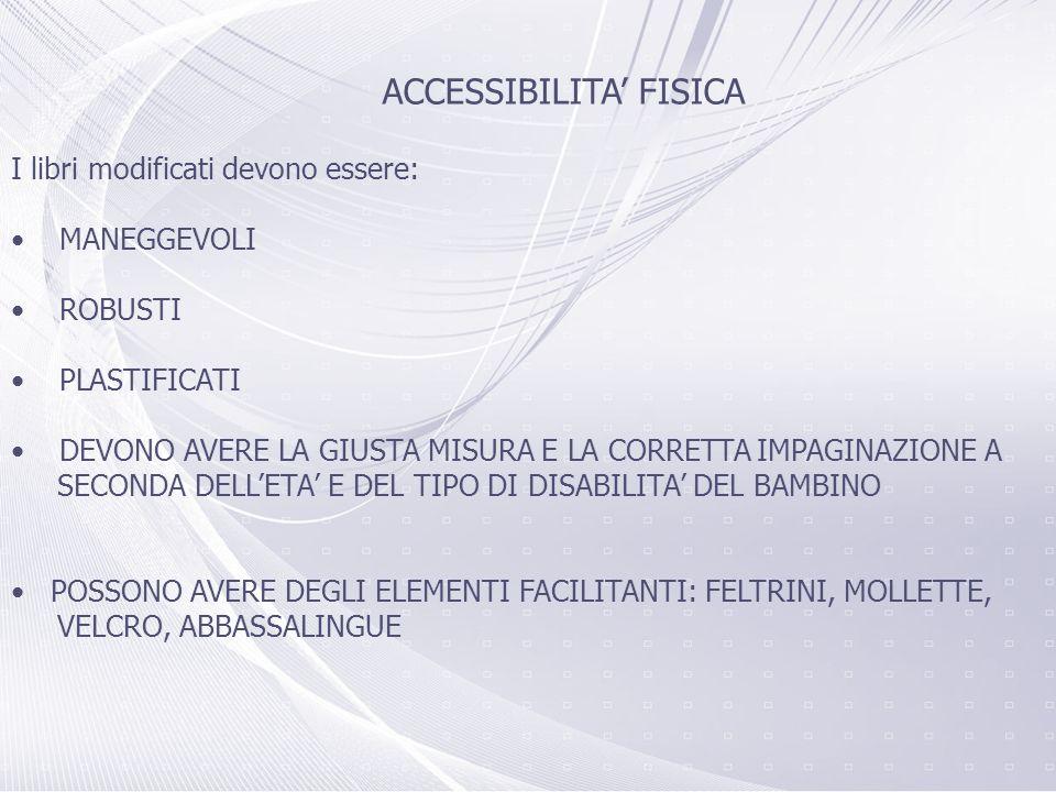 ACCESSIBILITA' FISICA