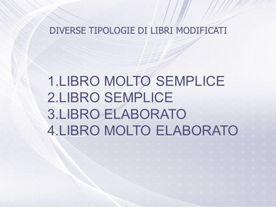 LIBRO MOLTO SEMPLICE LIBRO SEMPLICE LIBRO ELABORATO