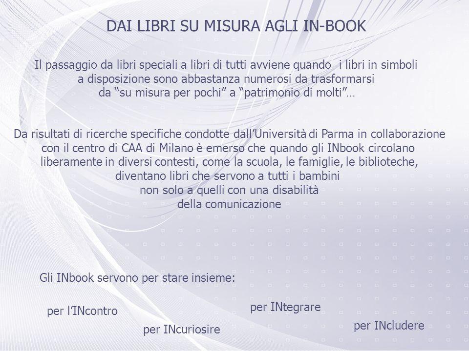 DAI LIBRI SU MISURA AGLI IN-BOOK