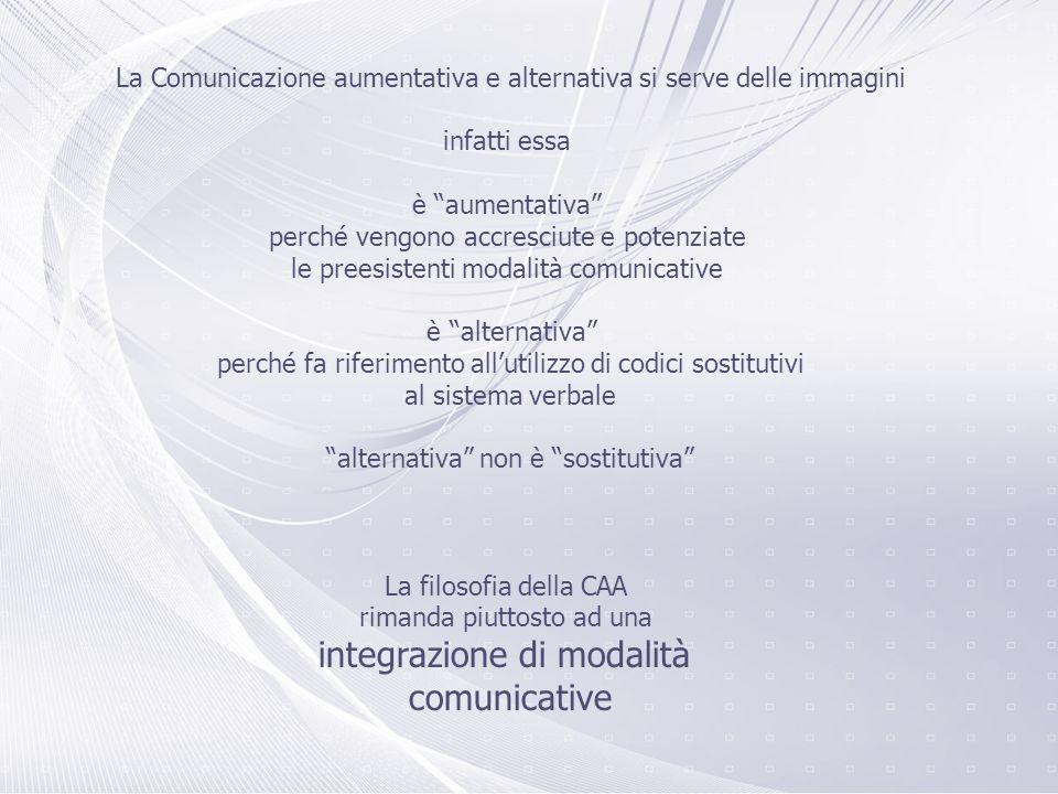 integrazione di modalità comunicative