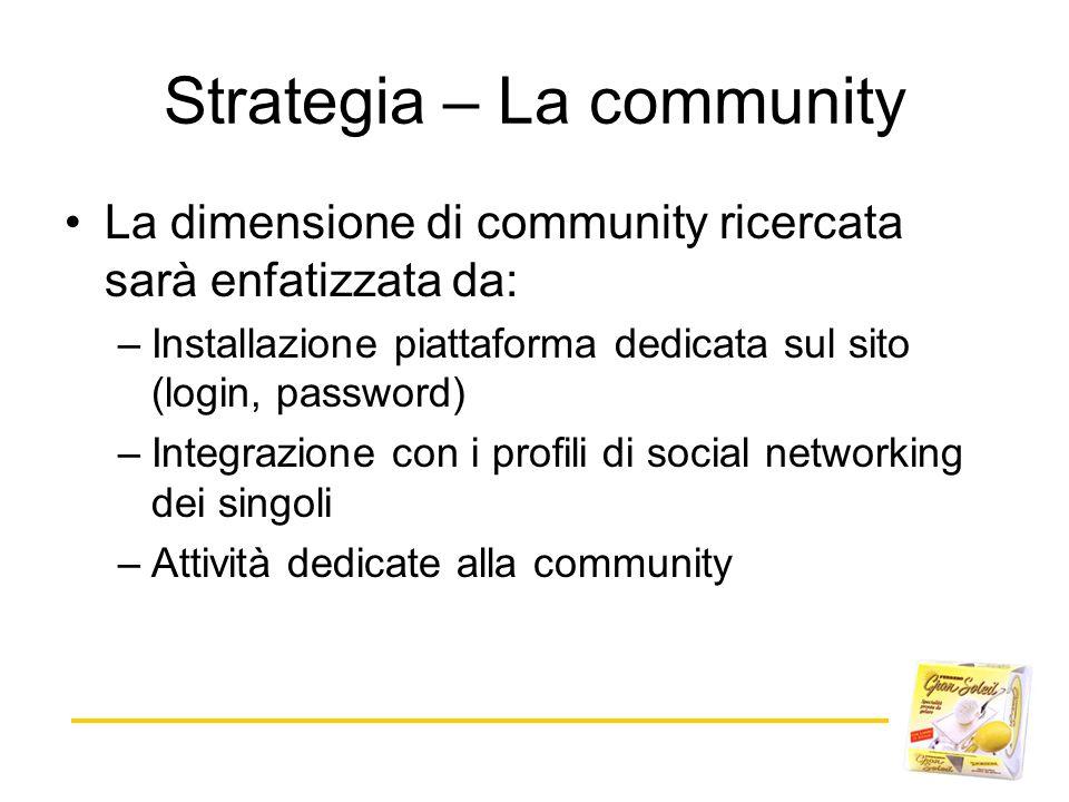 Strategia – La community