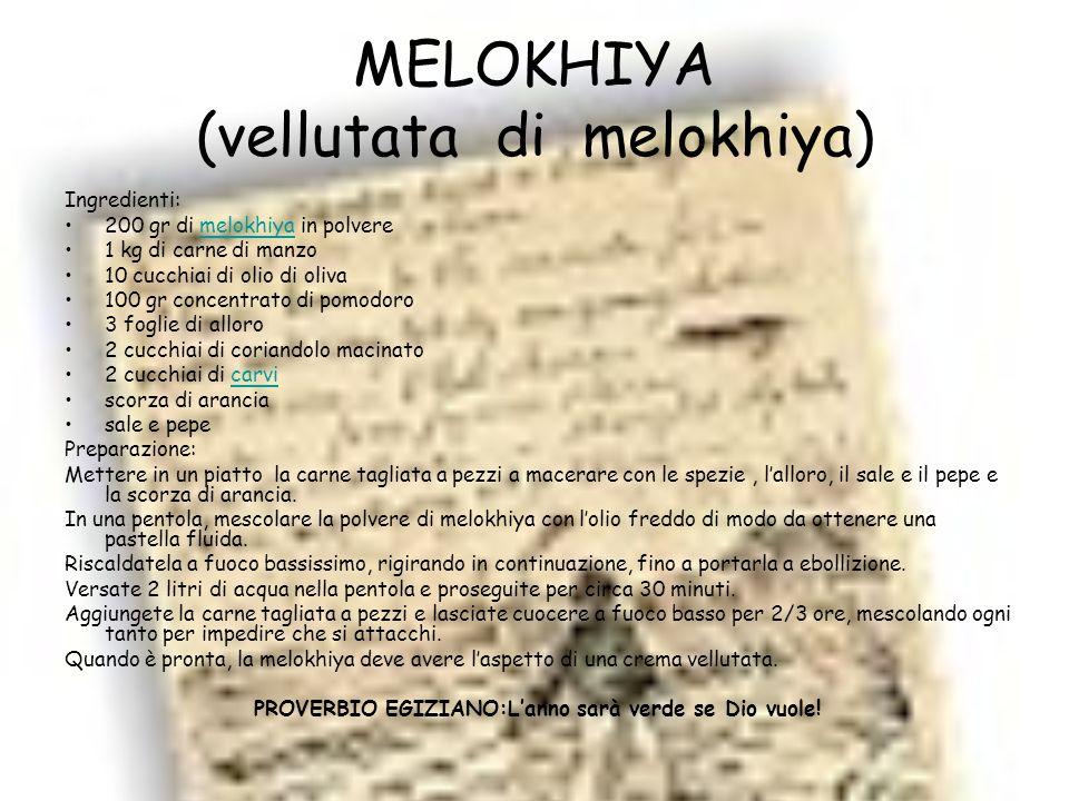 MELOKHIYA (vellutata di melokhiya)