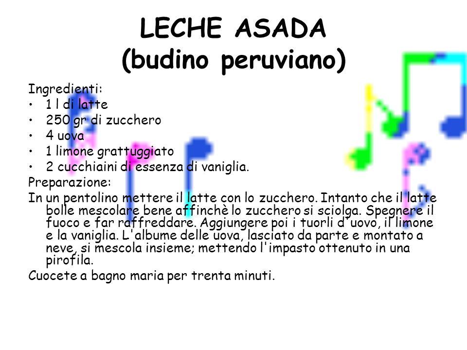 LECHE ASADA (budino peruviano)