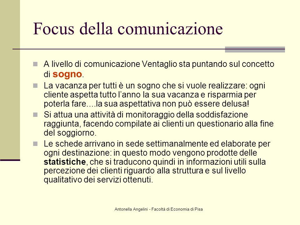 Focus della comunicazione