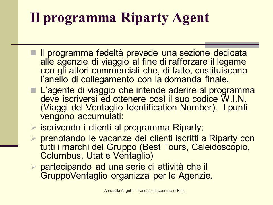 Il programma Riparty Agent