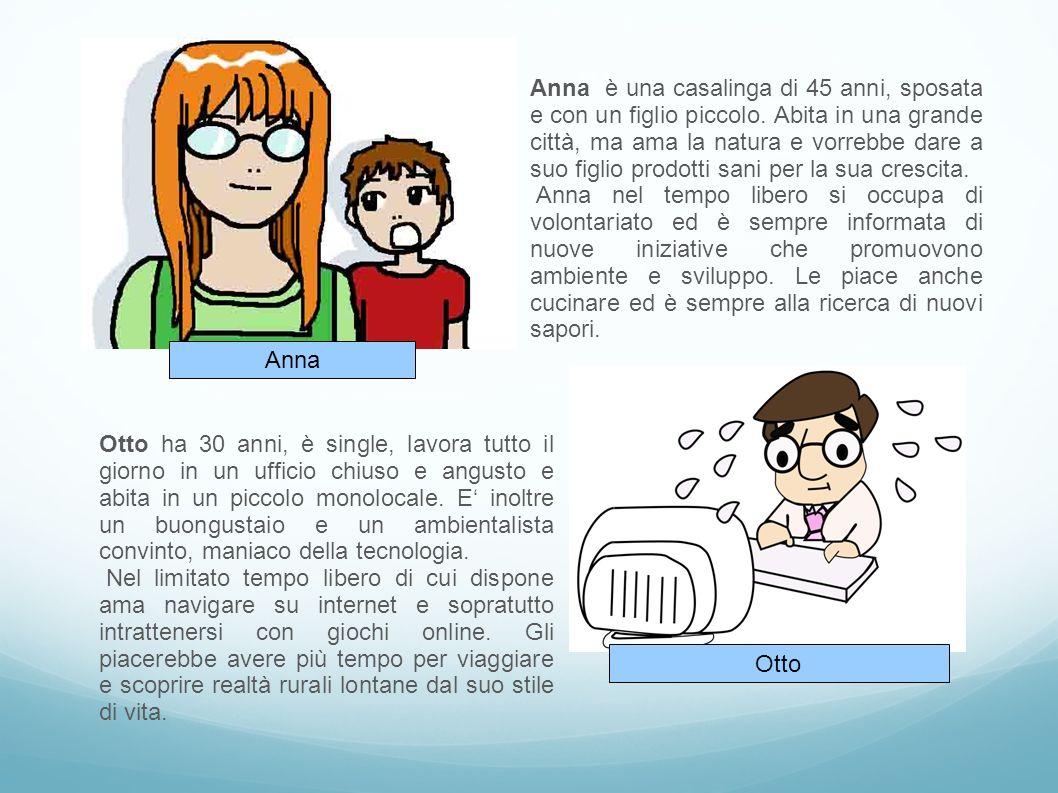 Anna è una casalinga di 45 anni, sposata e con un figlio piccolo