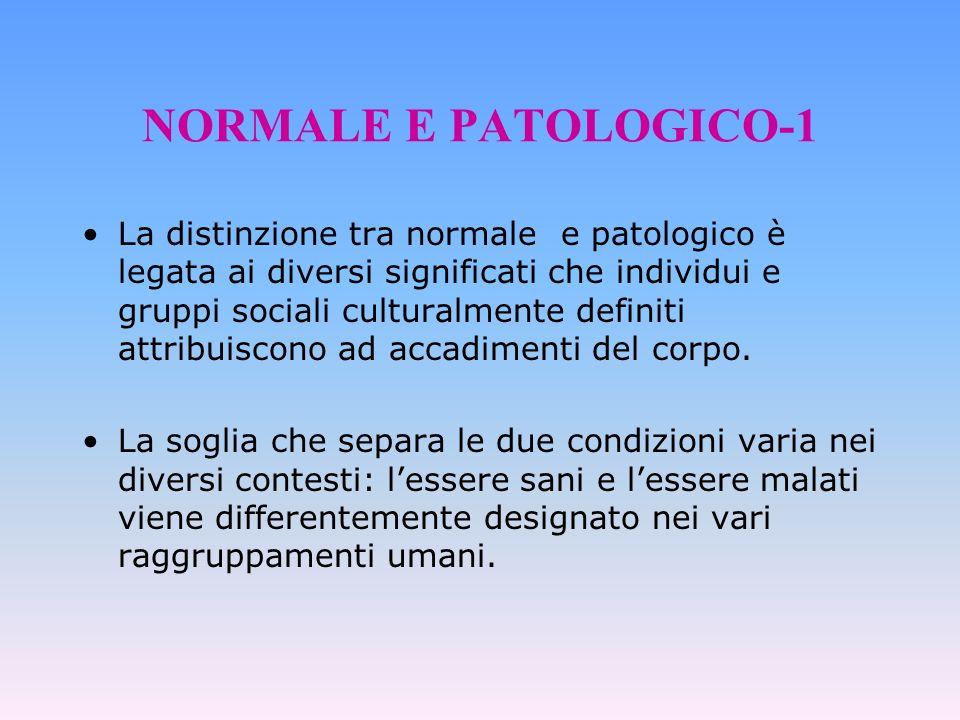 NORMALE E PATOLOGICO-1