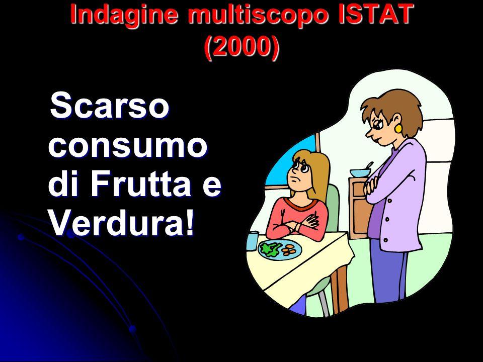 Indagine multiscopo ISTAT (2000)