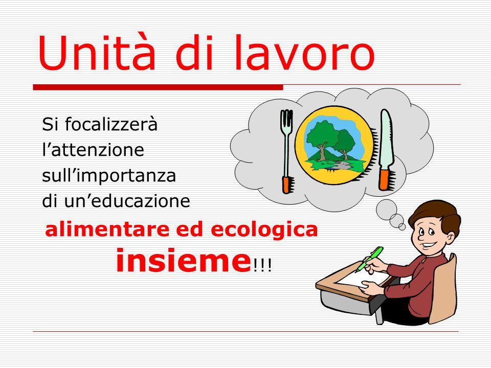 alimentare ed ecologica insieme!!!