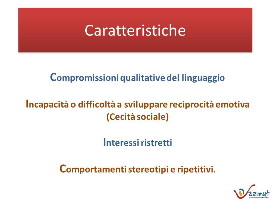 Compromissioni qualitative del linguaggio