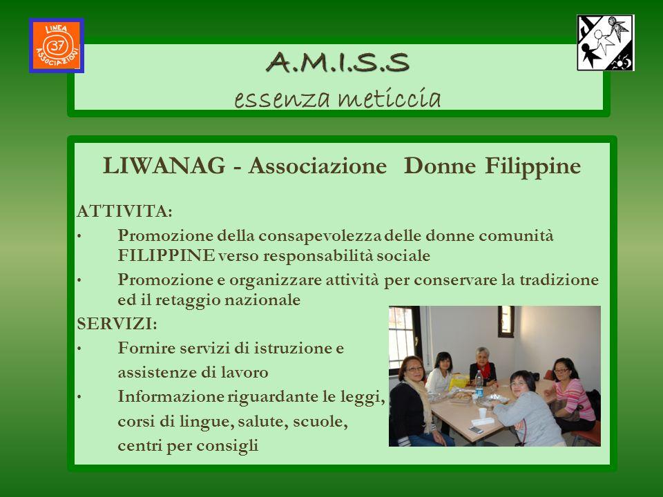 LIWANAG - Associazione Donne Filippine