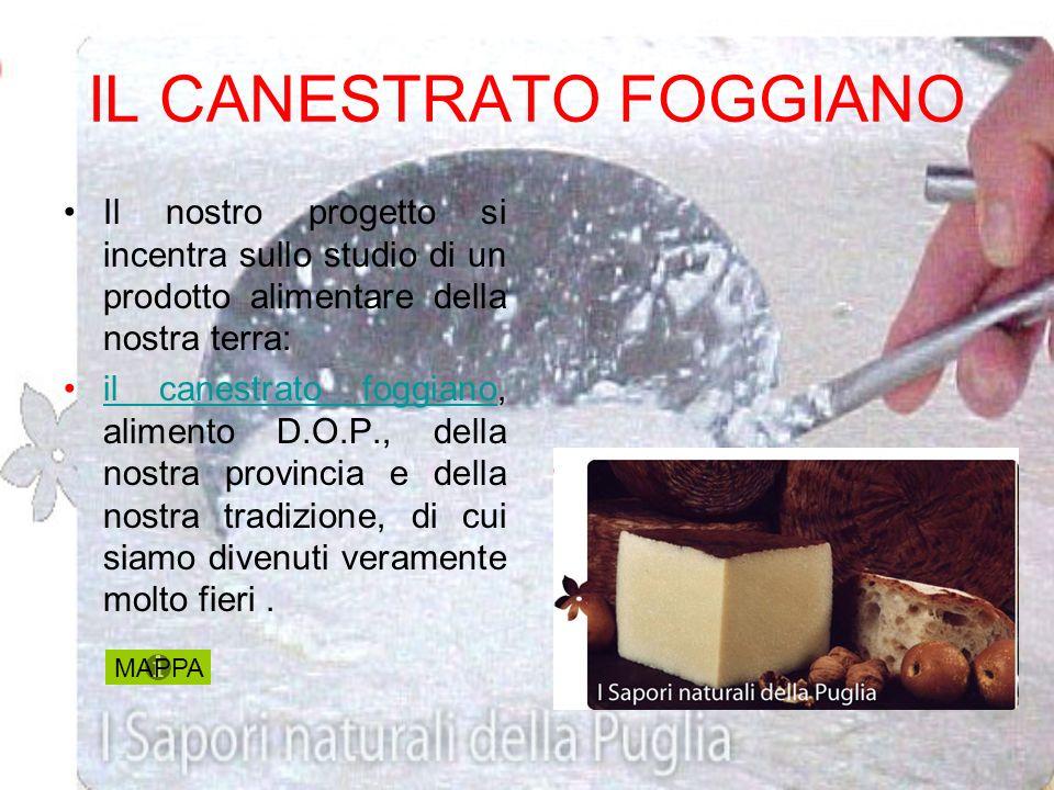 IL CANESTRATO FOGGIANO
