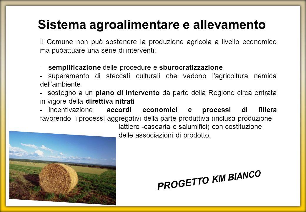 Sistema agroalimentare e allevamento