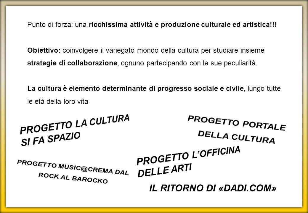 PROGETTO MUSIC@CREMA DAL ROCK AL BAROCKO