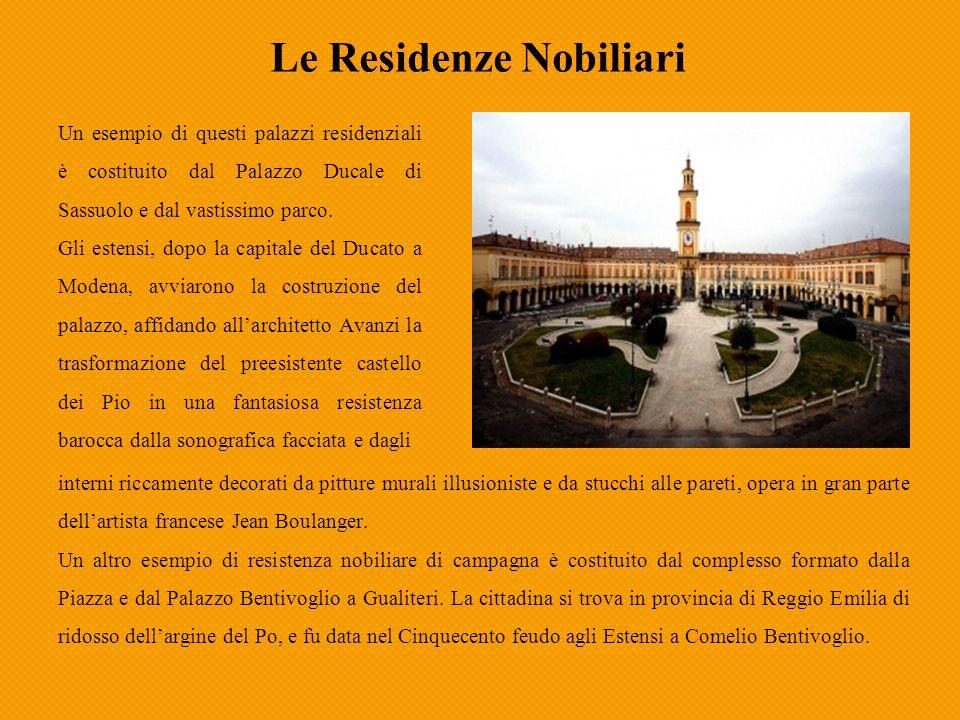 Le residenze Nobiliari