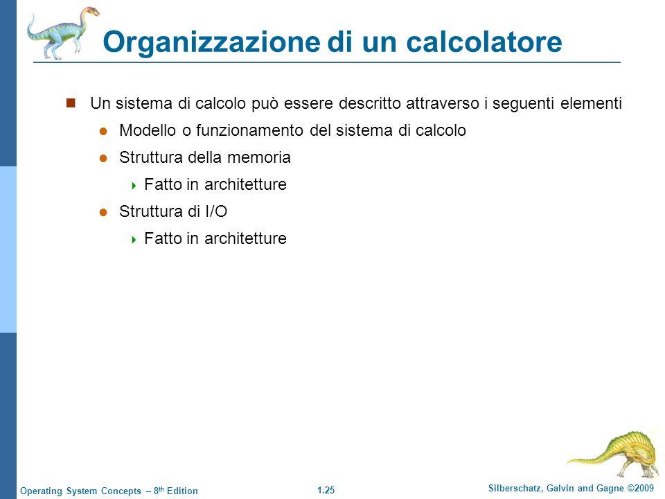 Organizzazione di un calcolatore