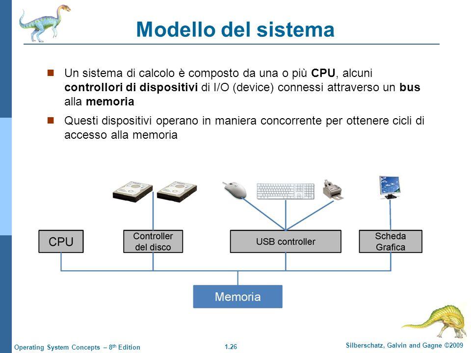 Modello del sistema