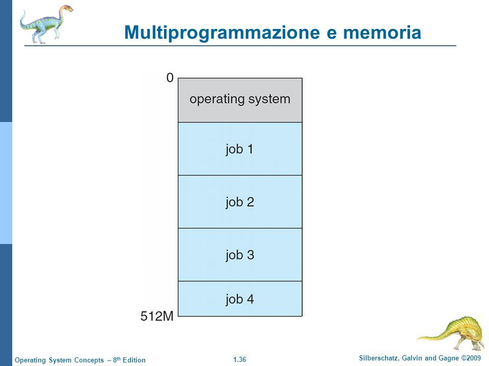 Multiprogrammazione e memoria