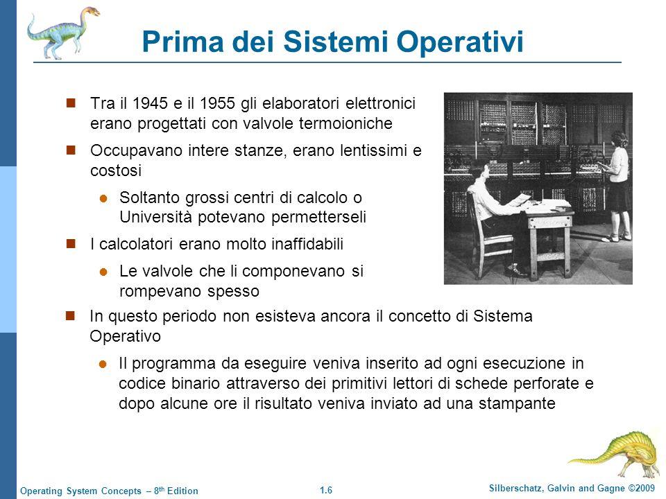 Prima dei Sistemi Operativi