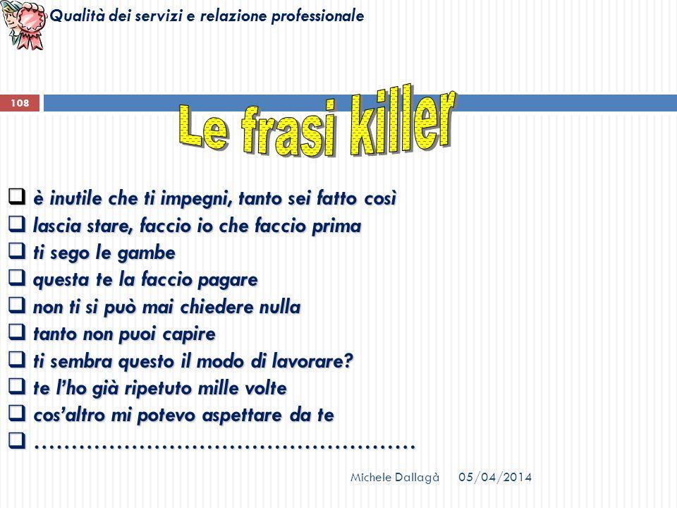 Le frasi killer è inutile che ti impegni, tanto sei fatto così