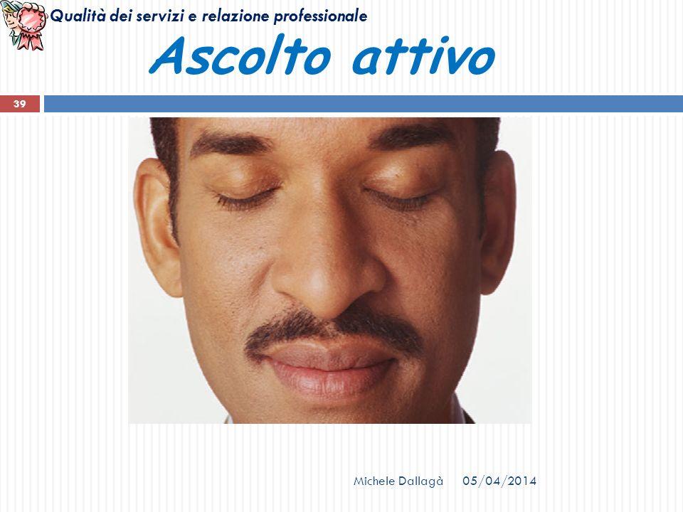 Ascolto attivo Michele Dallagà 29/03/2017