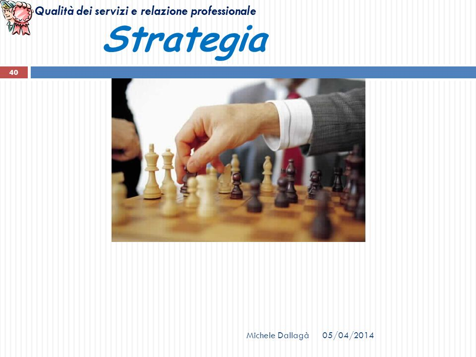 Strategia Michele Dallagà 29/03/2017