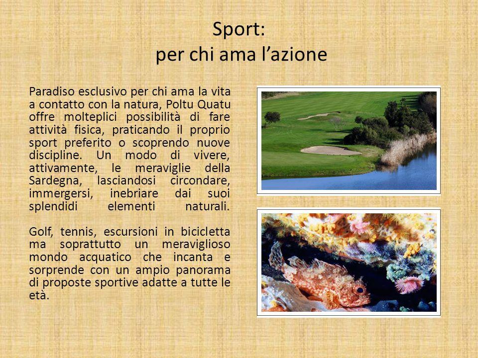 Sport: per chi ama l'azione