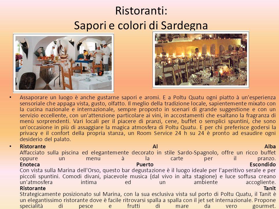 Ristoranti: Sapori e colori di Sardegna